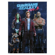 Guardians of the Galaxy Vol. 2 (Team) 60 x 80cm Canvas Print