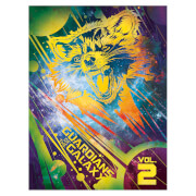 Affiche Encadrée Gardiens de la Galaxie Vol.2 Groot et son Bouclier