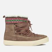 TOMS Women's Alpine Waterproof Suede Sheepskin Boots - Toffee - UK 3/US 5 - Tan