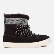 TOMS Women's Alpine Waterproof Suede Sheepskin Boots - Black - UK 3/US 5 - Black