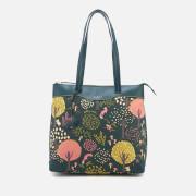 Radley Women's Epping Forest Large Ziptop Shoulder Bag - Pine