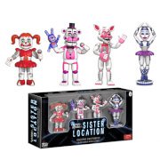 Funko Five Nights at Freddy's 2 Inch Action Figures Sister Location (4 Pack)