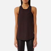 Koral Women's Peak Tank Top - Chocolate/Black - L - Brown