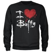 Buffy The Vampire Slayer I Heart Buffy Sweatshirt