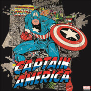 Marvel Captain America Printed Canvas Wall Art