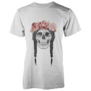 T-Shirt Crâne de Festival Solti -Blanc