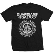 Marvel Guardians of the Galaxy Seal Heren t-shirt - Zwart