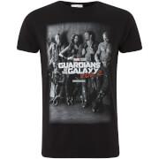 T-Shirt Homme Marvel Les Gardiens de la Galaxie Vol.2 Group - Noir