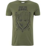 Marvel Men's Guardians of the Galaxy Vol.2 Groot T-Shirt - Khaki