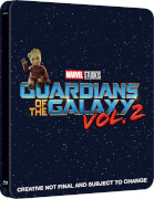 Guardians of the Galaxy Vol. 2 3D (Includes 2D Version) - Zavvi Exclusive Limited Edition Steelbook