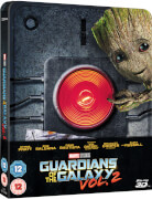 Guardianes de la Galaxia Vol. 2 (3D + 2D) - Steelbook Exclusivo de Zavvi Ed. Limitada - 3D + 2D