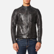 Belstaff Men's Weybridge Leather Blouson Jacket - Anthracite