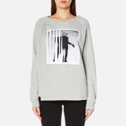 Karl Lagerfeld Women's Karl Photographer Sweatshirt - Grey Melange