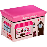 Premier Housewares Cake Shop Design Children's Storage Box/Seat