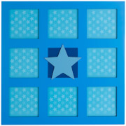 Premier Housewares Kids Star Wall Photo Frame - Multi