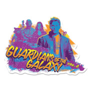 Marvel Guardians of the Galaxy Guitar Wall Art