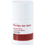 Купить Дезодорант-стик для мужчин без содержания спирта Recipe For Men Alcohol Free Deodorant Stick 75мл