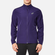 Asics Men's Running Jacket - Purple