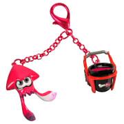 Splatoon 2 Neon Pink Inkling Squid Keychain