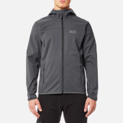 Jack Wolfskin Men's Northern Point Softshell Jacket - Ebony