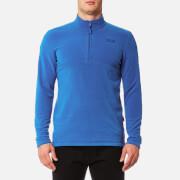 Jack Wolfskin Men's Gecko 1/4 Zip Fleece - Coastal Blue