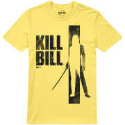 Kill Bill Men's Silhouette T-Shirt - Yellow