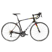 Look 765 Full Ultegra 6800 Aksium 2017 Road Bike - Black/White/Red