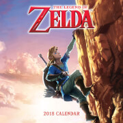 The Legend of Zelda Calendar 2018