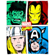 Disney Marvel Comics Strike Fleece Blanket