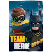 LEGO Batman Movie: Fleece Decke