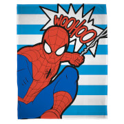 Disney Marvel Ultimate Spider-Man Abstract Fleece Blanket
