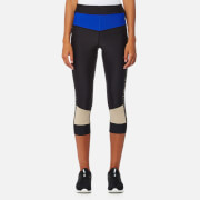 P.E Nation Women's Cure Ball Crop Leggings - Taupe - XS - Black