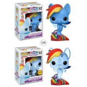 My Little Pony Movie Rainbow Dash Sea Pony Pop! Vinyl Figur