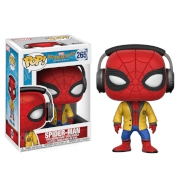 Figurine Pop! Spider-Man avec Casque - Spider-Man Homecoming