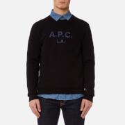 A.P.C. Men's APC LA Sweatshirt - Noir