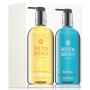 Molton Brown Lemon & Mandarin & Blue Maquis Hand Wash Set