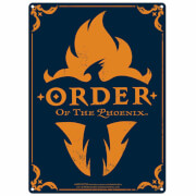 Harry Potter Order Of The Pheonix Large Tin Sign (41.5 x 31cm)