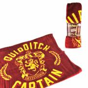 Harry Potter Quidditch Captain Cape Towel