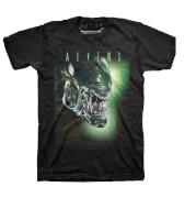 T-Shirt Xenomorph Aliens -Noir