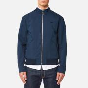 Lacoste Men's Zipped Blouson Jacket - Navy Blue - L/42cm - Blue