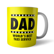 Dad World's Best Taxi Service Mug