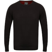 Kensington Men's Basic Crew Neck Jumper - Dark Navy