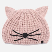 Karl Lagerfeld Women's Choupette Beanie - Quartz
