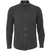 Tokyo Laundry Men's Westbridge Twill Long Sleeve Shirt - Dark Grey