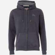 Tokyo Laundry Men's Ashwood Zip Through Hoody - Blackened Pearl