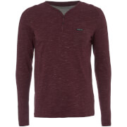 T-Shirt Homme Helter Mock Layered Longues Manches Dissident - Bordeaux