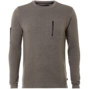 Dissident Men's Facade Sweatshirt - Grey