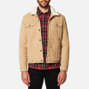 Levi's Men's Good Sherpa Trucker Jacket - Chino Sherpa Trucker