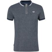 Le Shark Men's Holmdale Zip Polo Shirt - Navy Fleck