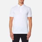 Versace Collection Men's Cotton Polo Shirt - Bianco Lana